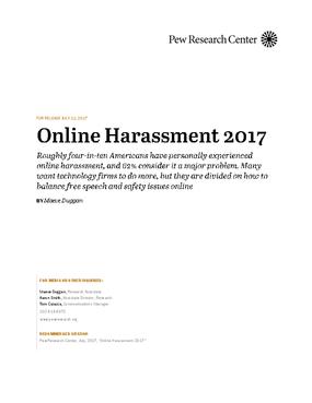 Online Harassment 2017
