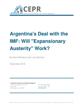 "Argentina's Deal with the IMF: Will ""Expansionary Austerity"" Work?"